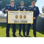 La Policía Portuaria y otras fuerzas policiales consiguen 200.000€ a favor de la lucha contra el cáncer infantil.